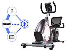 Liegeergometer Heimtrainer magnetisch Sitzergometer Watt USB Bluetooth Fitn. APP