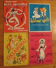 A Lot Of 22 Original Souvenir Programs Celebrities and mostly Shows