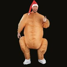 Premier Adult Inflatable Christmas Turkey Novelty Costume Battery Operated