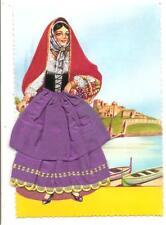 Costumi della Campania _ ISCHIA...... ricamo + stoffa/tessuto !!!!!!!!