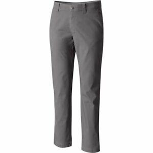NWT Mens Columbia 1792581 023 Flex ROC Omni-Shade UPF  50+ City Gray Pants $65