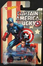 Hot Wheels Captain America Blue Bucky Spectyte 7/8 New 2015