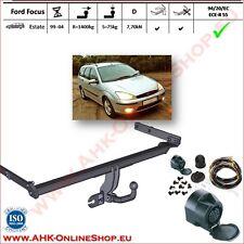 AHK ES13 Ford Focus Bj.1998-2004 Kombi Anhängevorrichtung Anhängerkupplung AHZV