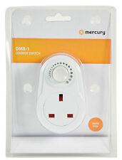 Interruptor Regulador Zócalo Luz Lámpara De Mesa Ajustable enchufe de alimentación de red en el Reino Unido Stock