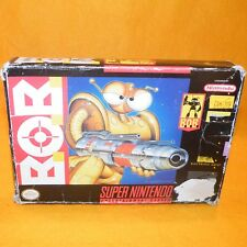 VINTAGE 1993 SUPER NINTENDO ENTERTAINMENT SYSTEM SNES B.O.B. BOB GAME NTSC BOXED
