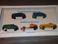 """Wiking Set """" Edition Auto Museum VW Nutzfahrzeuge Qualität aus Hannover"""" mit OVP"""