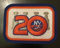 New York Islanders 20th Anniversary Jersey Patch