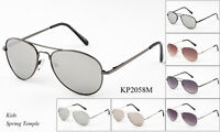 Kids Aviator Sunglasses Retro Fashion Children Boys Girls Students Eyewear UV400