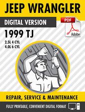 1999 Jeep Wrangler TJ Factory Repair Service Manual