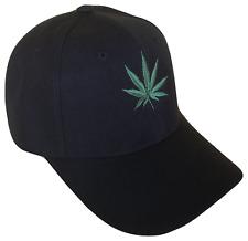 Medical Recreational Marijuana Dispensary Green Leaf Baseball Cap Caps Hat Hat