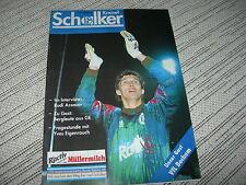 Programm 1992/93: FC Schalke 04 - VfL Bochum