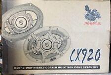 "1 Pair NEW Old School Profile CX920 2-way 6X9"" Coaxial speakers,Rare,NOS,NIB"