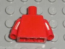 Buste rouge LEGO red Minifig Torso 973 / Set 8672 8375 8654 8673 7740 7745 375..