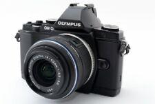 Olympus OM-D E-M5 16.1MP 14-42mm Lens Black [Exc+++] w/Box,8GB SD,Flash [811]
