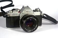 Canon AV-1 avec objectif Canon FD 50 mm 1:1,8
