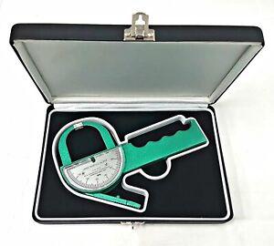 Lange Skinfold Caliper with Hard Case, Instruction Manual