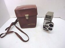 Vintage Bell & Howell Electric Eye 8mm Movie Camera  iS2132 & Leather Case