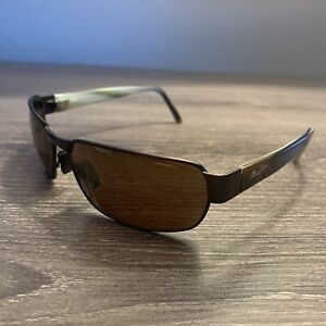 Maui Jim Black Coral Sunglasses MJ249-19M Matte Bronze with HCL Bronze Lenses
