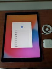 iPad pro 12.9 2nd gen model A1670 256Gb Excellent Condition Newest IOS 15