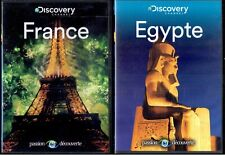Lot Discovery Channel : France - Egypte - Bresil - Russie - Chine - Mexique ...