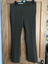 Brand New H&M Gold khaki Sparkly Trousers - UK Size 12/14