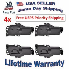 Set of 4 pcs Power Door Lock Actuators (2 Left & 2 Right) for FORD MAZDA MERCURY
