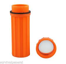 3 in 1 Waterproof Storage Match Box Orange Mirror Striker Container Holder Kit