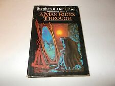 A man Rides Through  by Stephen R. Donaldson HC used SFBC edition