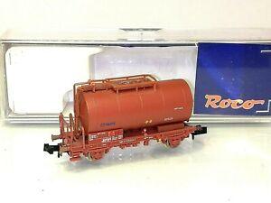 ROCO 25992 RENFE Cisterna 2 ejes marrón óxido Epoca IV TOP OVP Escala N