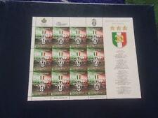 Sanmarino minifoglio Juventus 2012 nuovo