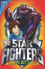New, STAR FIGHTERS 1: Alien Attack, Chase, Max, Book