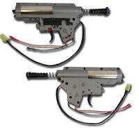 GEARBOX SOFTAIR 8MM COMPLETO SERIE EVO M4  CAVI REAR AIRSOFT GEAR BOX QD SPRING