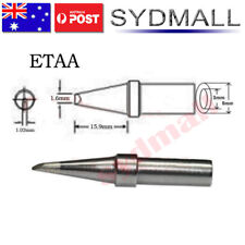 ETAA Solder Soldering Station Iron Tip for Weller PES51 WES51 WESD51 Single Flat