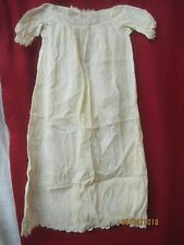 Antique Child's Nightgown Embroidery & Lace