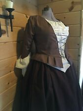 18th Century Colonial Rev War Outlander 1700s Poldark Complete Outfit