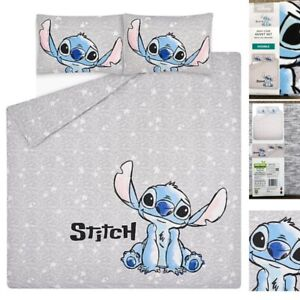 George Disney LILO & STITCH - Double - Reversible Duvet Cover Bedding Set New!