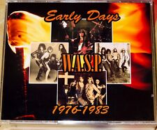 W.A.S.P. WASP Demo 1976-1983 3 CD+DVD Kiss Iron Maiden Motley Crue FREE SHIPPING