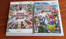 Super Smash Bros. Brawl  Wii Nintendo Game 2008 with Cover, Case and Manual  VGC