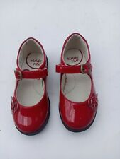 """TODDLER GIRL`S STRIDE RITE """"SR-AVA RED"""" DRESS SHOES SIZE 9 TODDLER  RED ."""