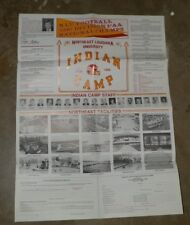1988 Northeast Louisiana Univeristy-Indian Football Camp Poster