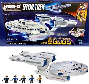 New U.S.S. ENTERPRISE Star Trek KRE-O A3137 BUILDING SET Construction SPACE SHIP