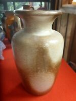 RETRO WEST GERMAN MIDCENTURY WHITE BLOTCHES  VASE 202  24cm tall