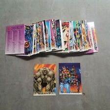 Youngblood 1995 Skybox Set of 90 Cards & Sticker Set of 9 Cards & 5 Wiggle Cards