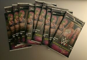 (10) 2018 TOPPS WWE WOMEN'S DIVISION Unopened Retail PACKS (From Box)Rousey RC!?