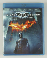 "PRL) BLU-RAY DISC BATMAN ""IL CAVALIERE OSCURO"" 2 DISCHI DVD FILM MOVIE CINEMA"