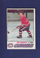 Yvan Cournoyer 1977-78 O-PEE-CHEE Hockey #230 (EXMT+)