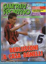 GUERIN SPORTIVO-1991 n.37- VAN BASTEN-FERLAINO-BIANCHI -NO FILM