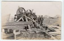 More details for picture postcard of traction engine accident by pemberton of herne bay (c61054)