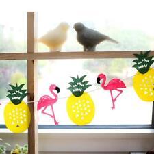 Guirlande Décorative à Fanion Flamant Ananas Multicolore Déco Fête Tropical