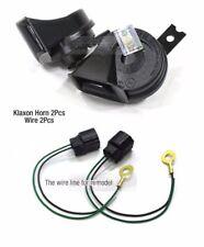 OEM Parts High Low Dual Double Klaxon Horn & Wire 4Pcs 1Set for KIA Car